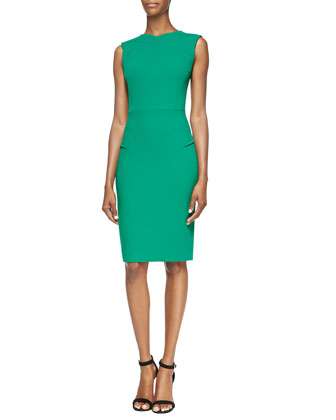 Roland Mourat 'Sesia' Double-Faced Wool-Crepe Dress .jpg