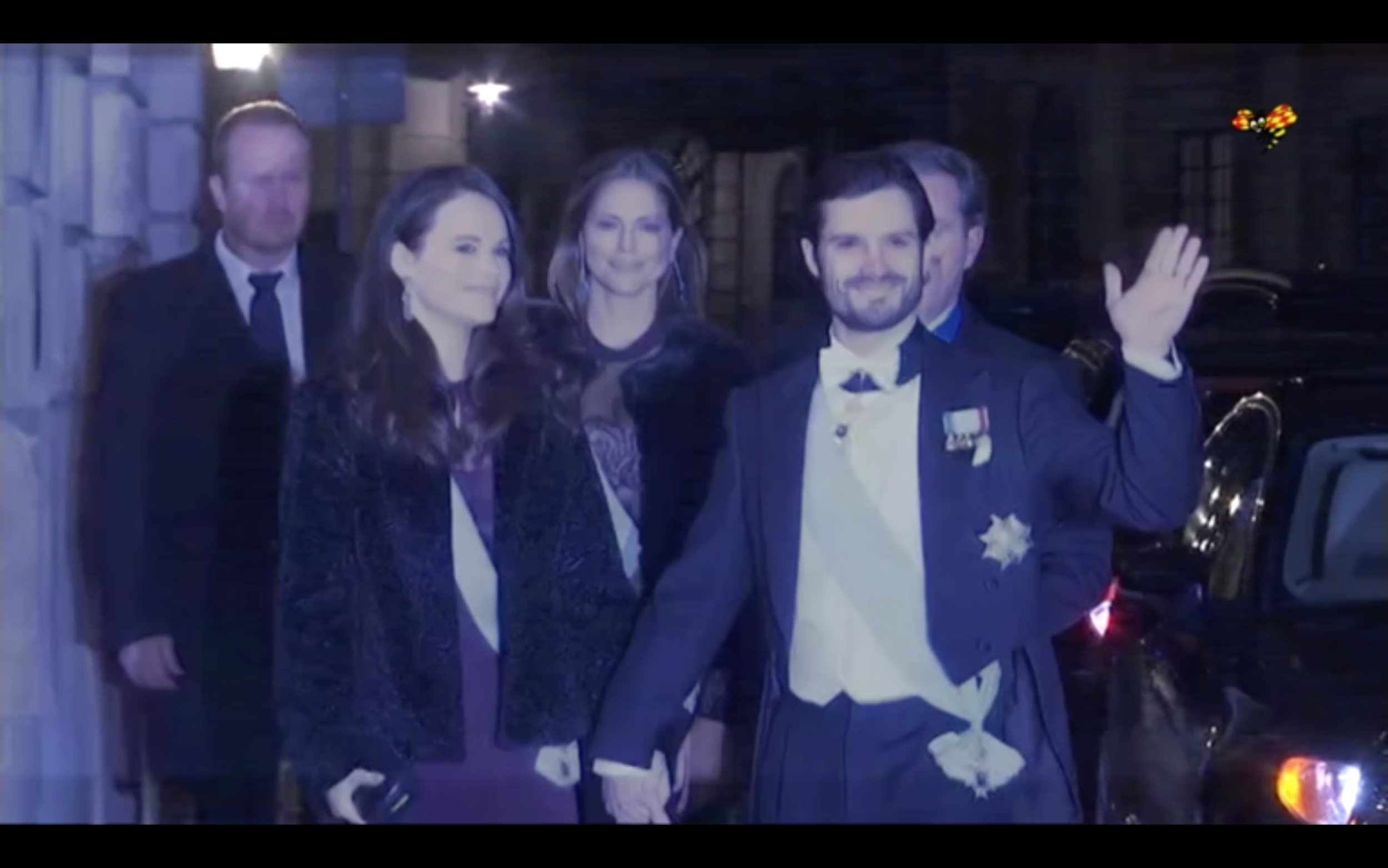 Screen Grab from Expressen Video