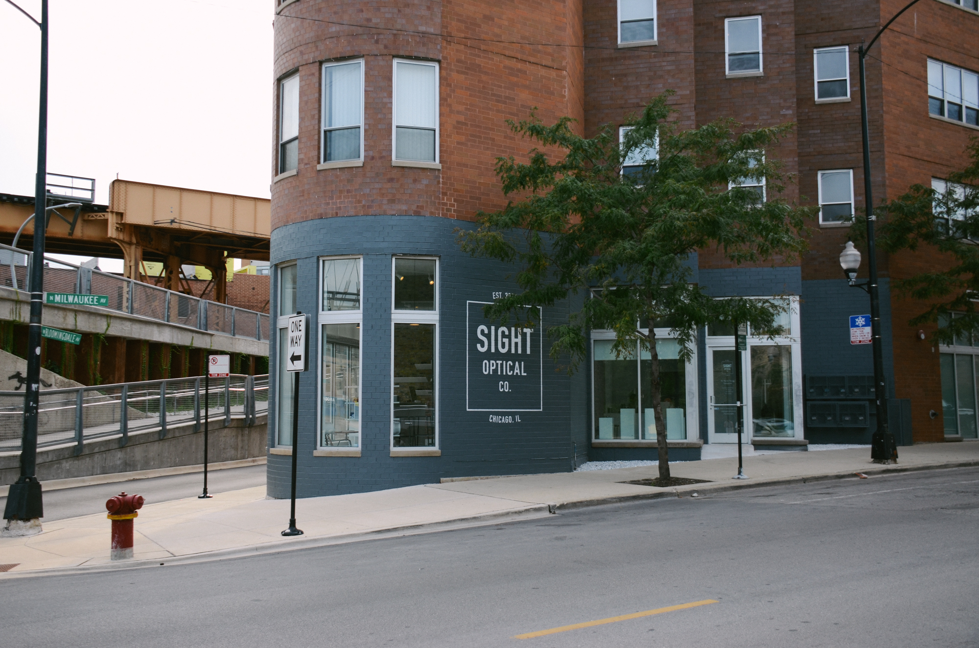 Sight Optical Co. Located in Bucktown, Chicago right by the 606.