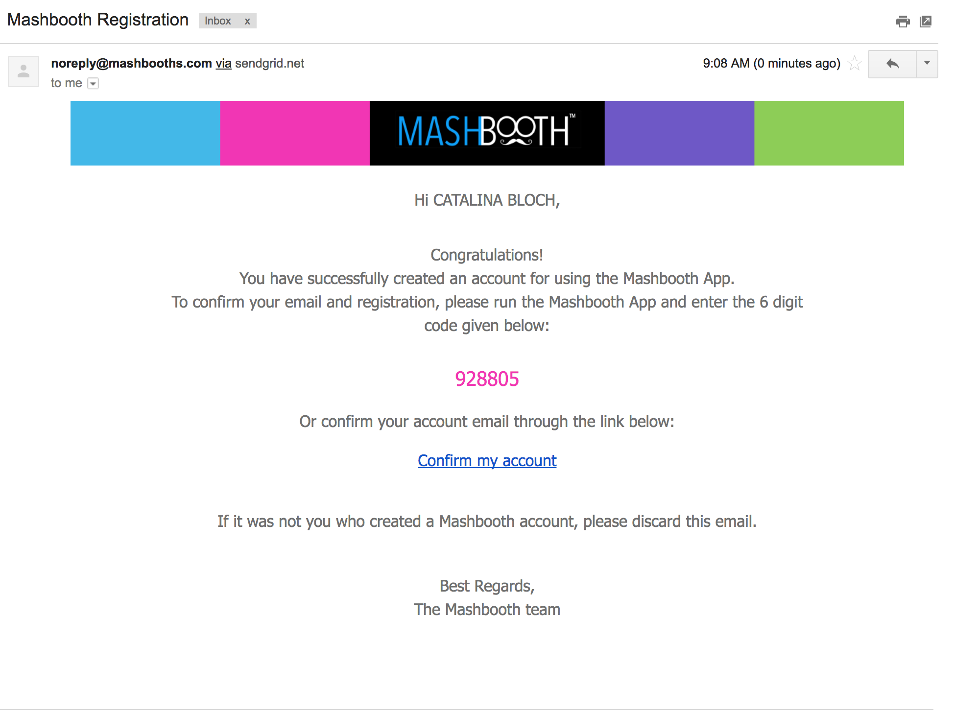 MASHBOOTHS CONFIRMATION EMAIL