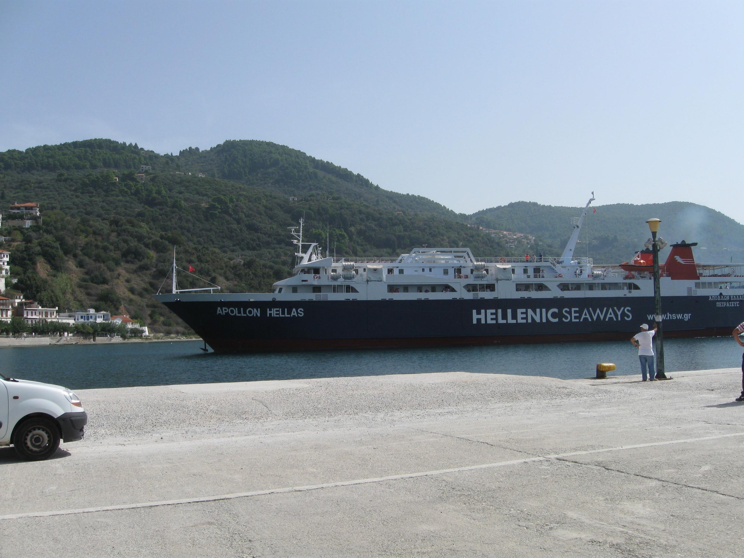 'Apollon Hellas' arrives Loutraki.JPG