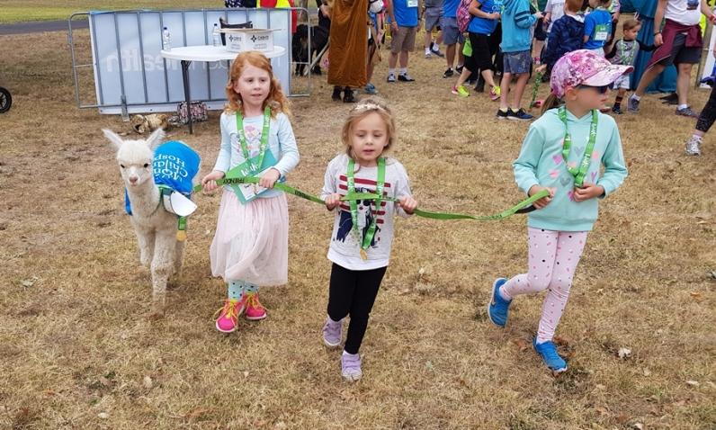 Everyone got involved at the Walk for Monash Children's Hosptial