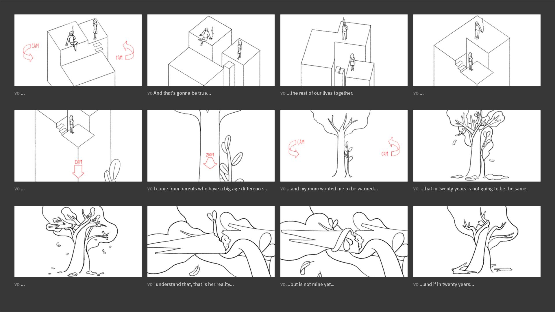 New York Times - Modern Love Storyboard 03