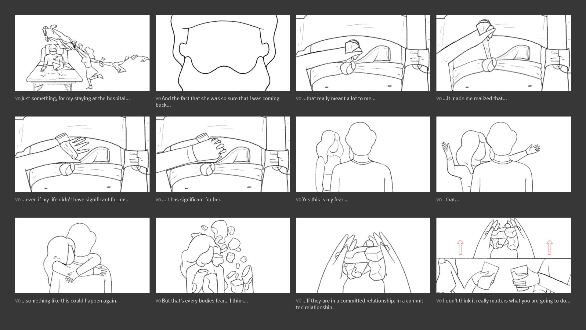 New York Times - Modern Love Storyboard 05