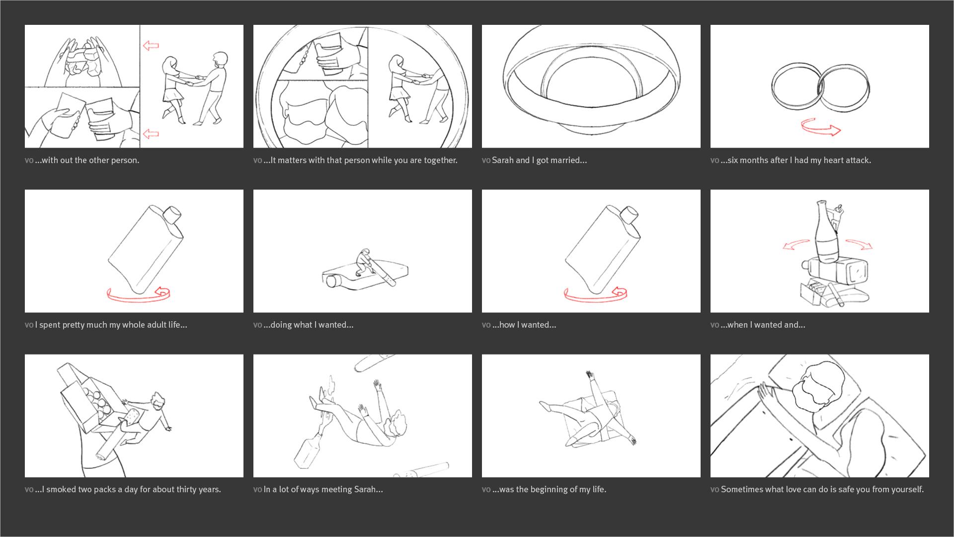 New York Times - Modern Love Storyboard 06