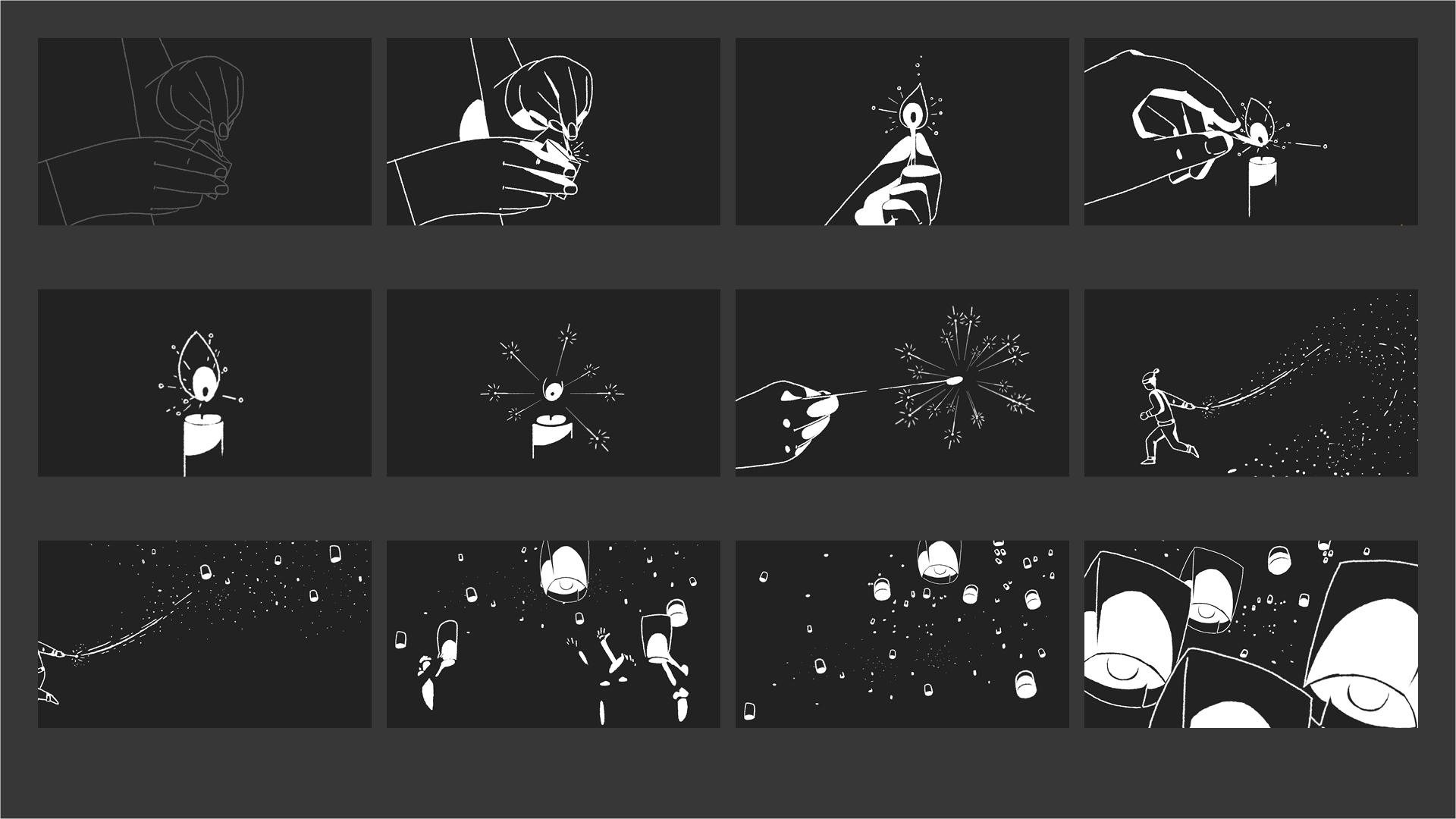 Skadden - Holiday 2014 Storyboard 01