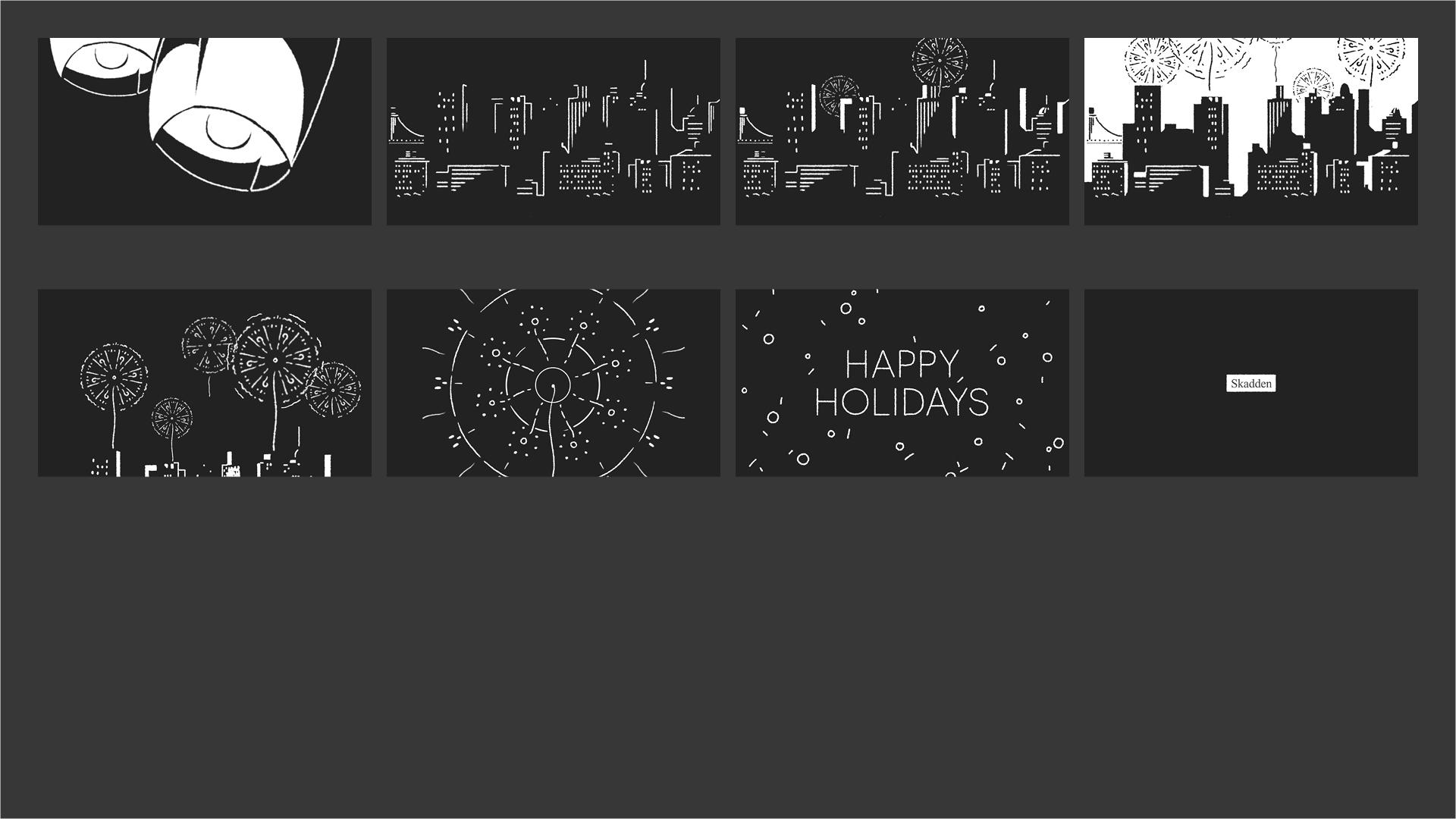 Skadden - Holiday 2014 Storyboard 02