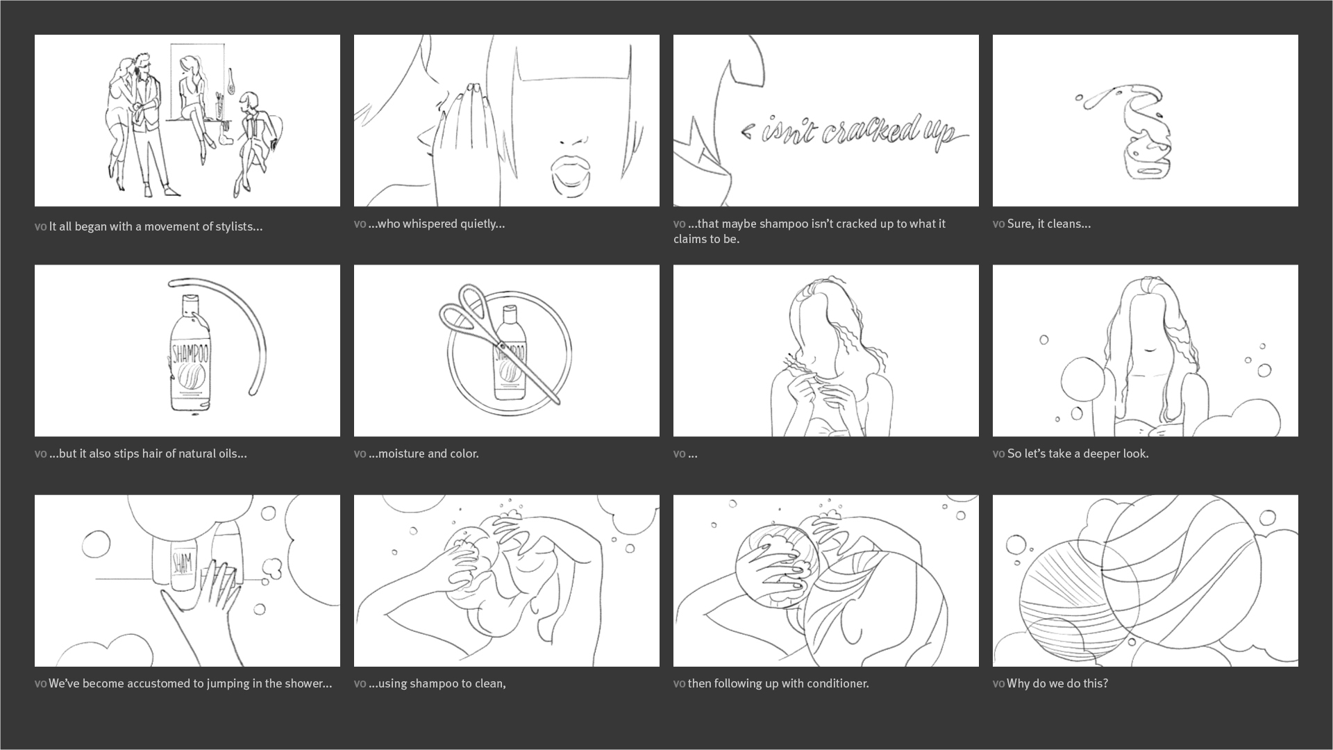 Unwash - The New Clean Storyboard 0