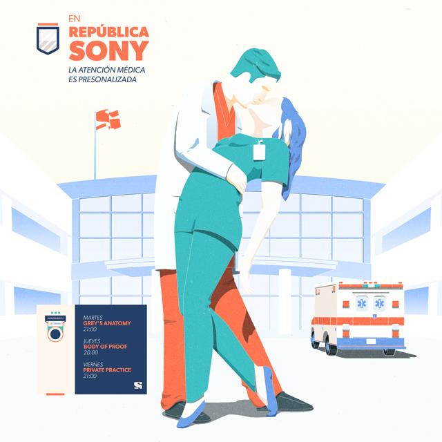 Canal Sony - República Sony Illustration 02