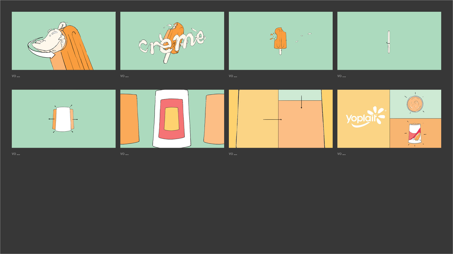 Yoplait - Orange & Cream Storyboard 02