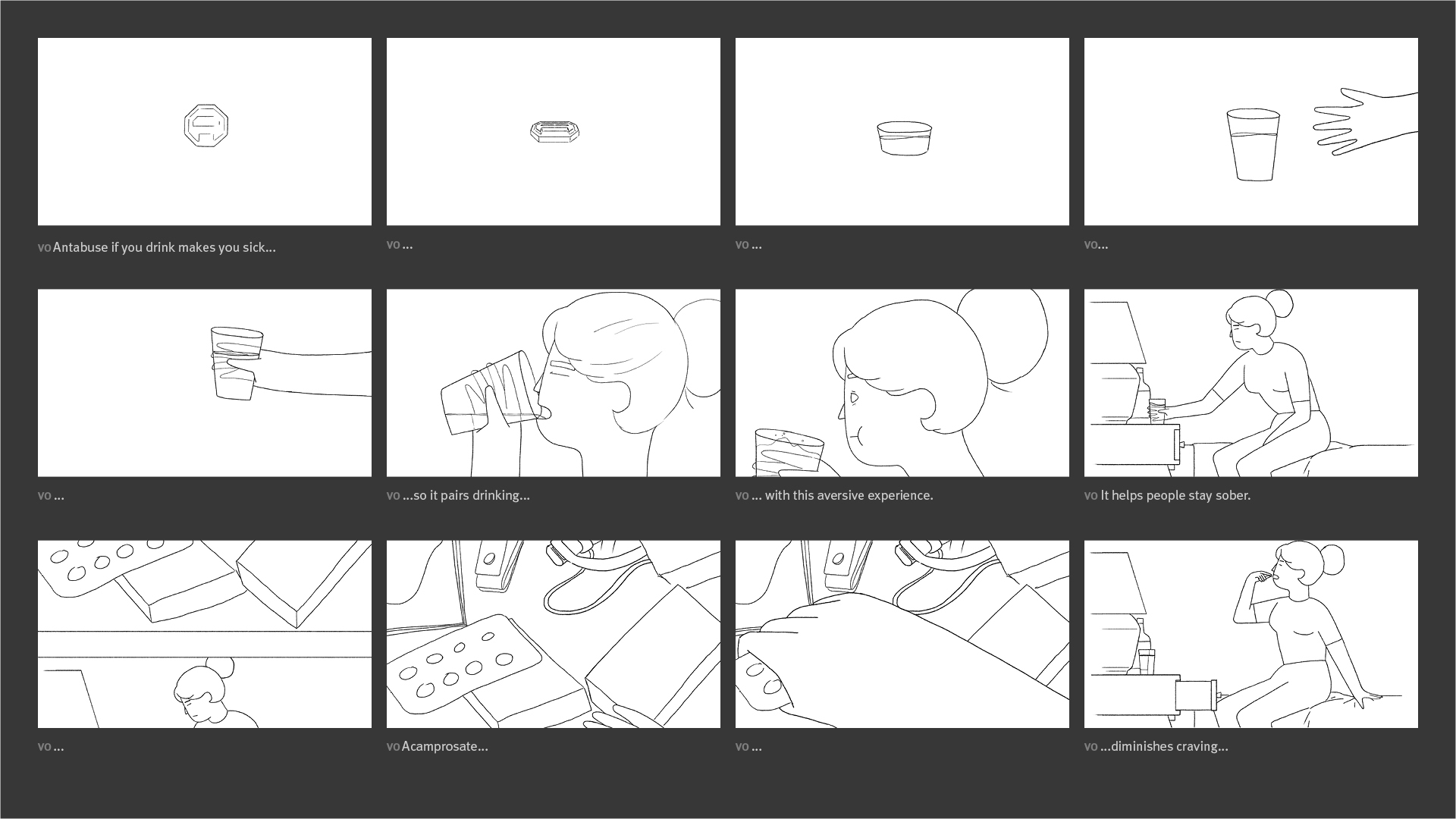 HBO Doc - Risky Drinking Storyboard 01
