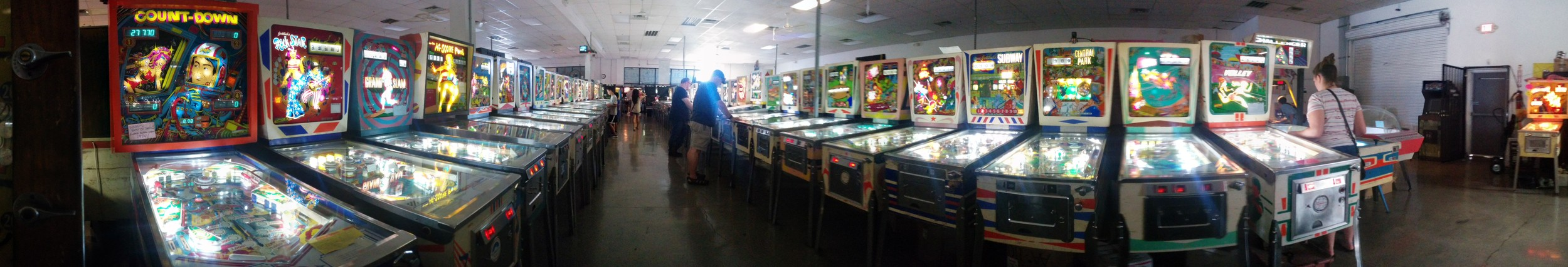 #1 Pinball Hall of Fame. Don't knock it 'til you try it.