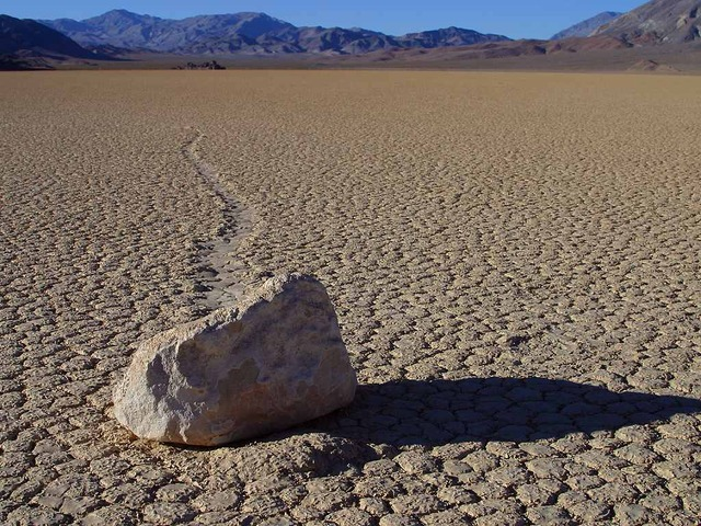 The Sliding Rocks of Racetrack Playa