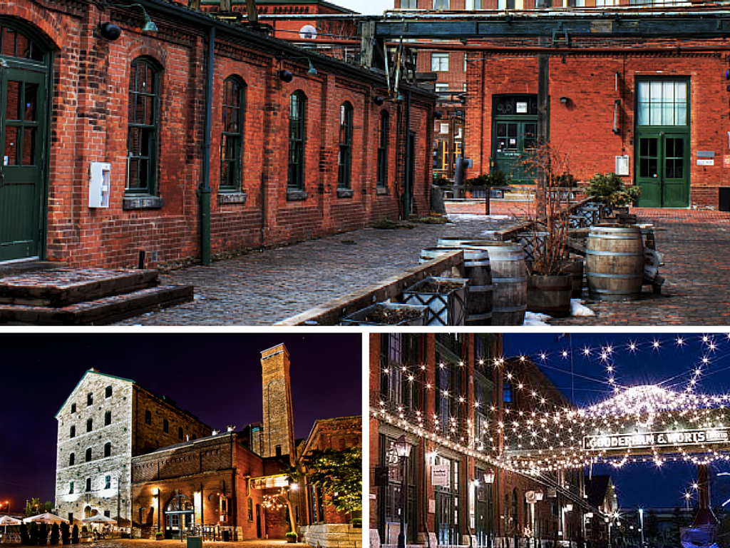 The Distillery District Source: The Culture Trip