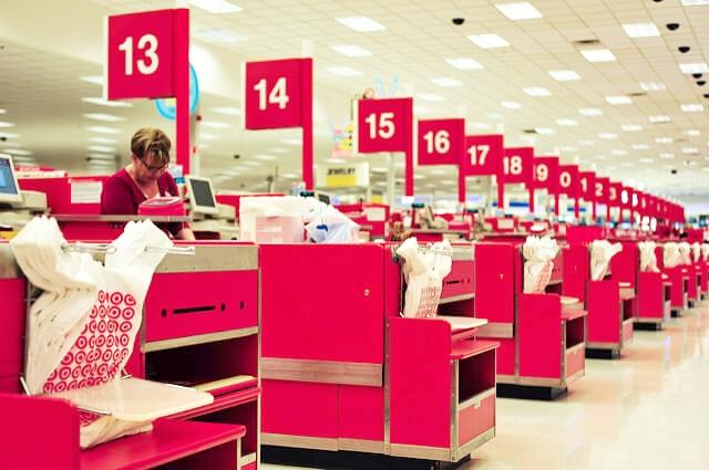 Target Checkout Source:  Flikr - Nate Grigg