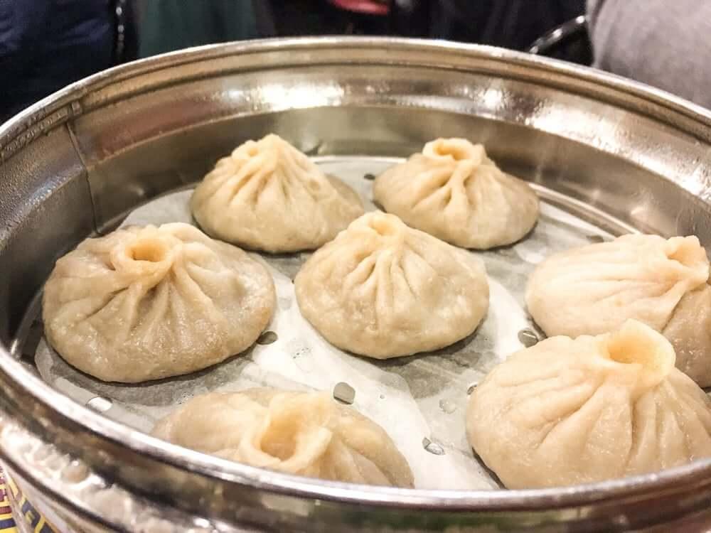 Gourmet Dumpling House - Steamed Xiao long bao