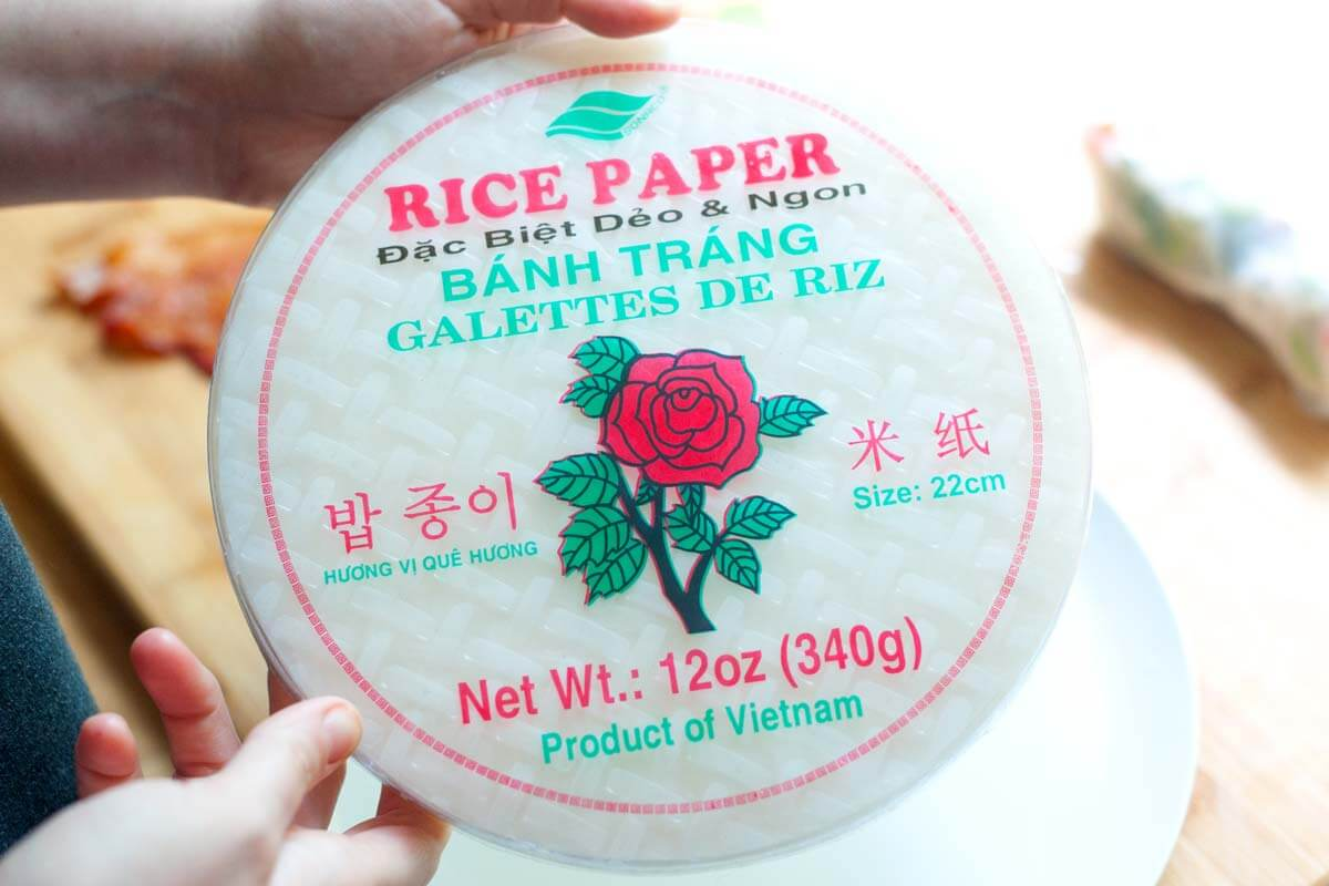 Make a full meal tonight with rice paper. You can do it.