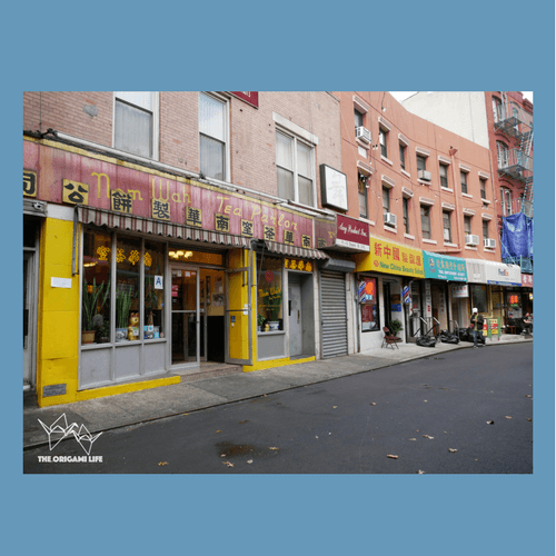 Nom Wah Tea Parlor, Chinatown, New York City