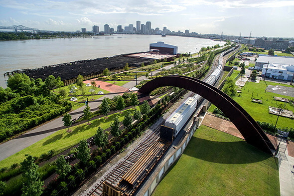 Crescent Park, New Orleans