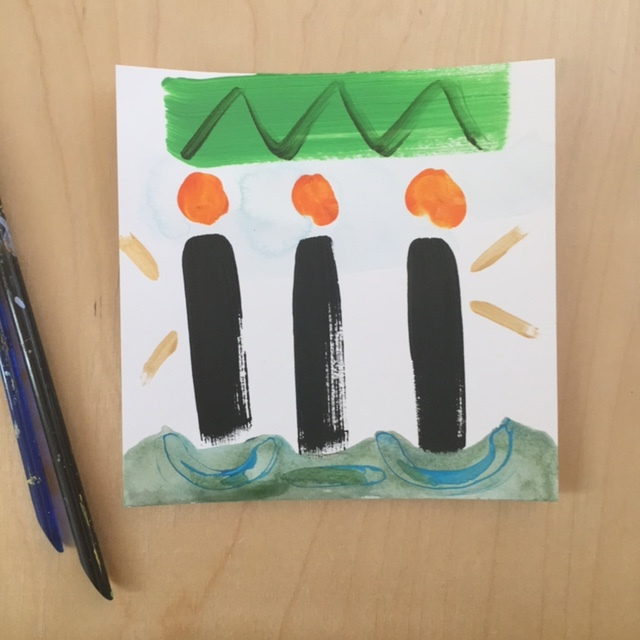 3 Kings Abstract Painting
