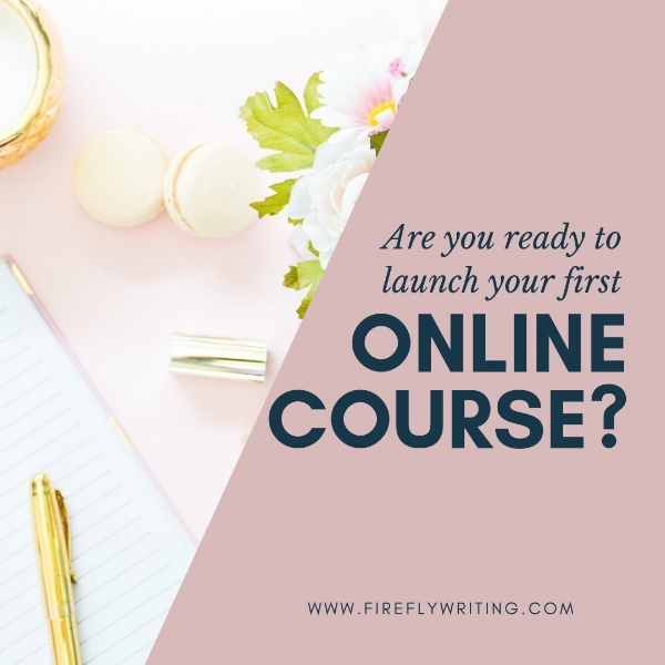 how to organize your first online course project