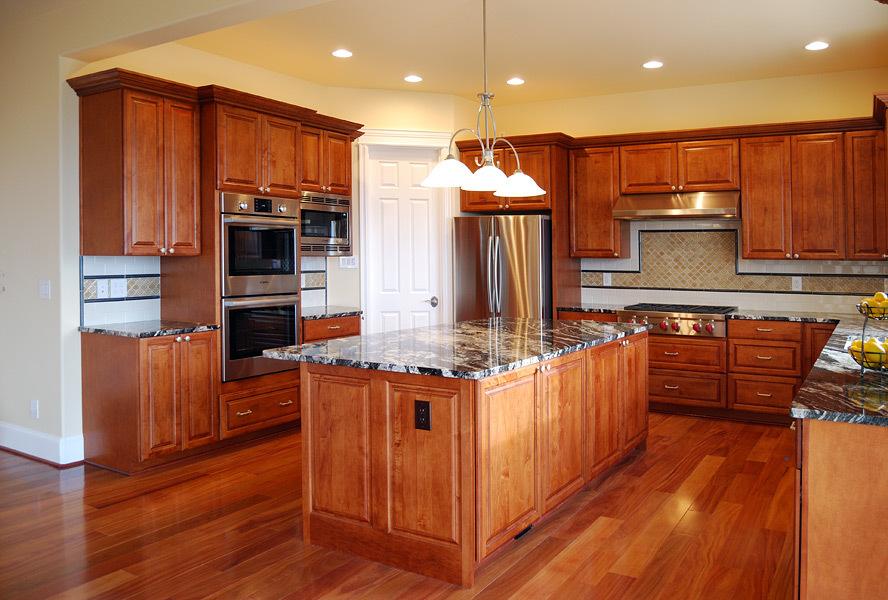 Kapadia Residence Kitchen Interior Design Idea - Tatiana Hisel Interior Design