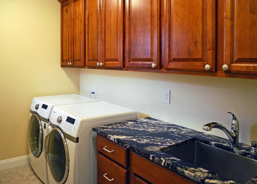 Kapadia Residence Laundry Room Interior Design Ideas - Tatiana Hisel Interior Design