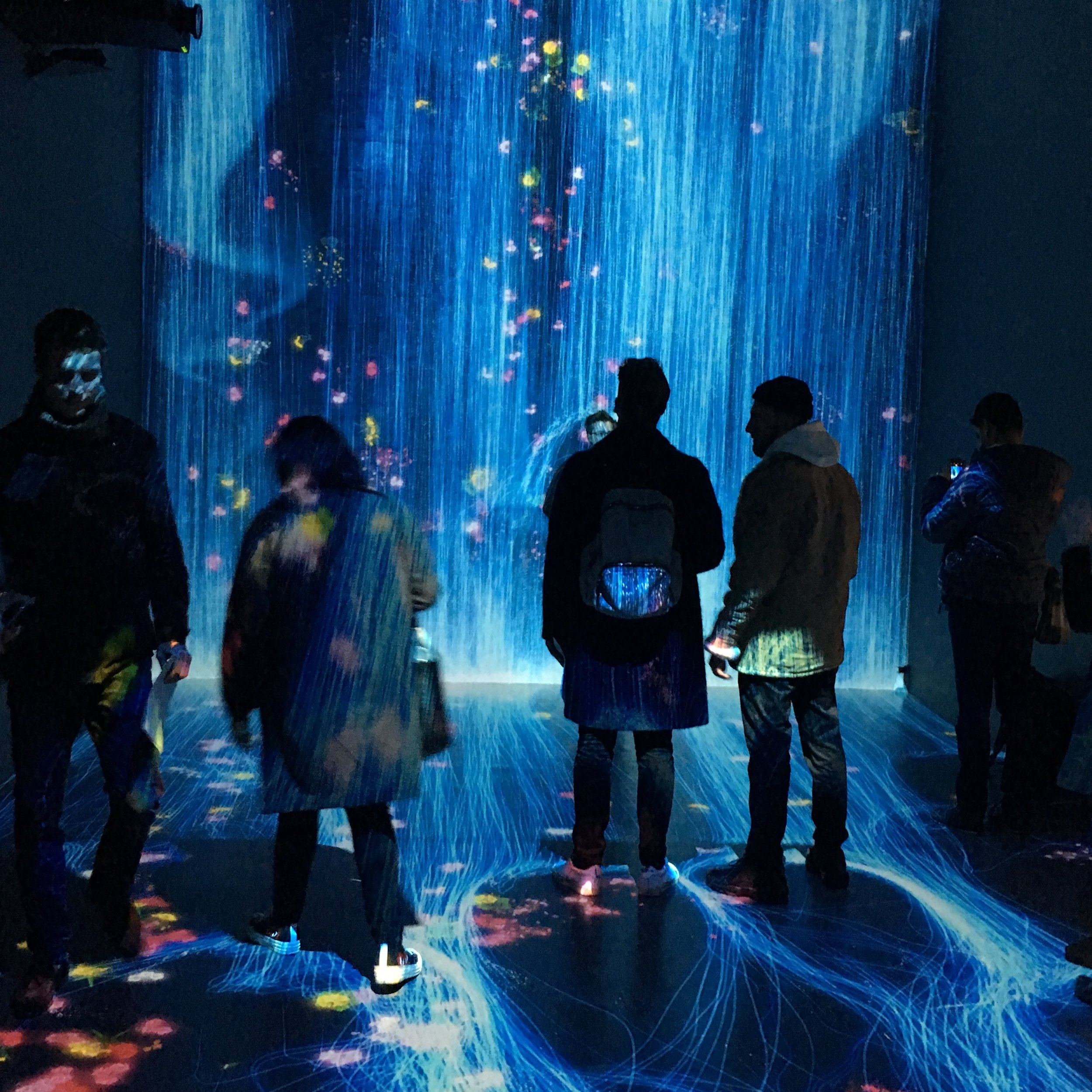 Transcending Boundaries, teamLab, Pace London Gallery