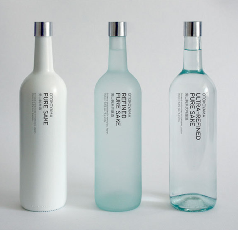 Otokoyama Sake Brand Identity , Designer Unknown
