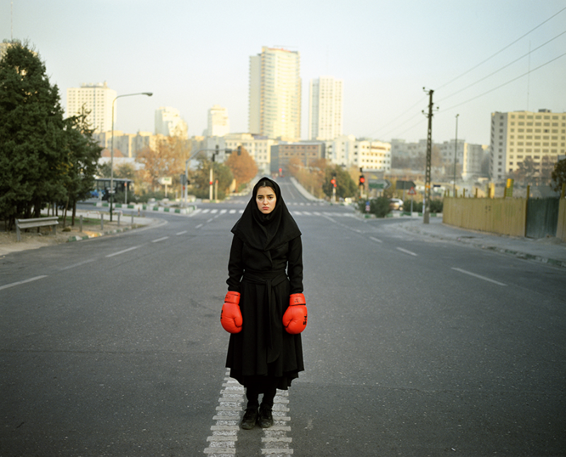 Newsha Tavakolian, Untitled from the Listen series, 2011, purchased with funds provided by the Farhang Foundation, Fine Arts Council, and an anonymous donor, © Newsha Tavakolian