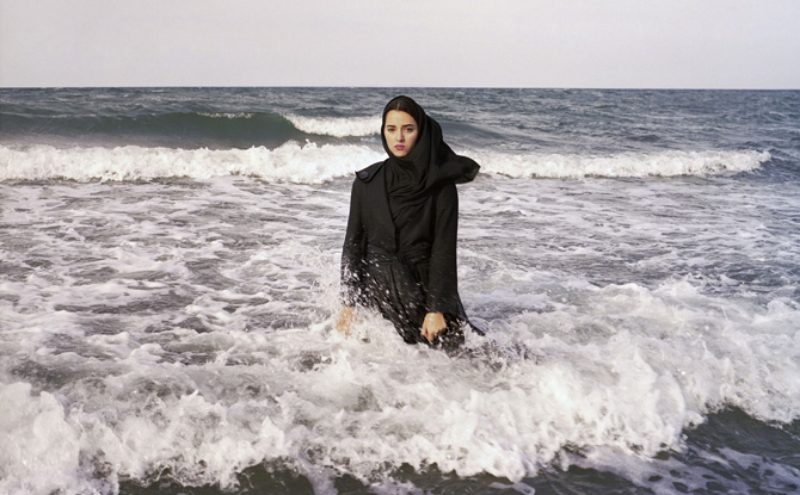 """Newsha Tavakolian, Untitled, from the series """"Listen,""""  2010; Pigment print, 39 3/8 x 47 1/4 in.; Courtesy of the    artist and East Wing Contemporary Gallery"""