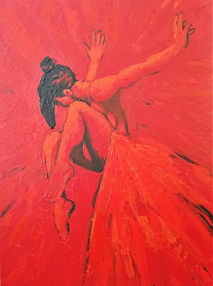 The Dancer - 36 x 48