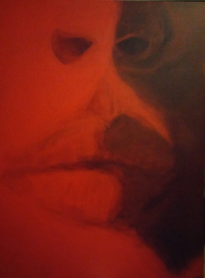 Red 36 x 48
