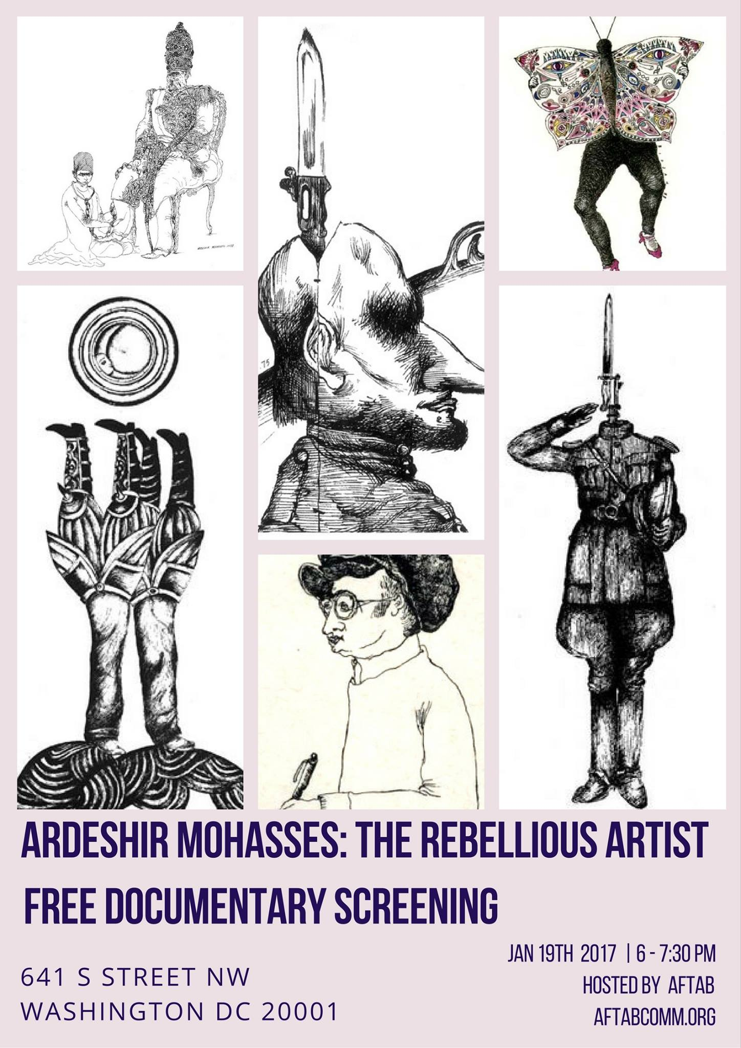 Ardeshir Mohasses: The Rebellious Artist Documentary Screening
