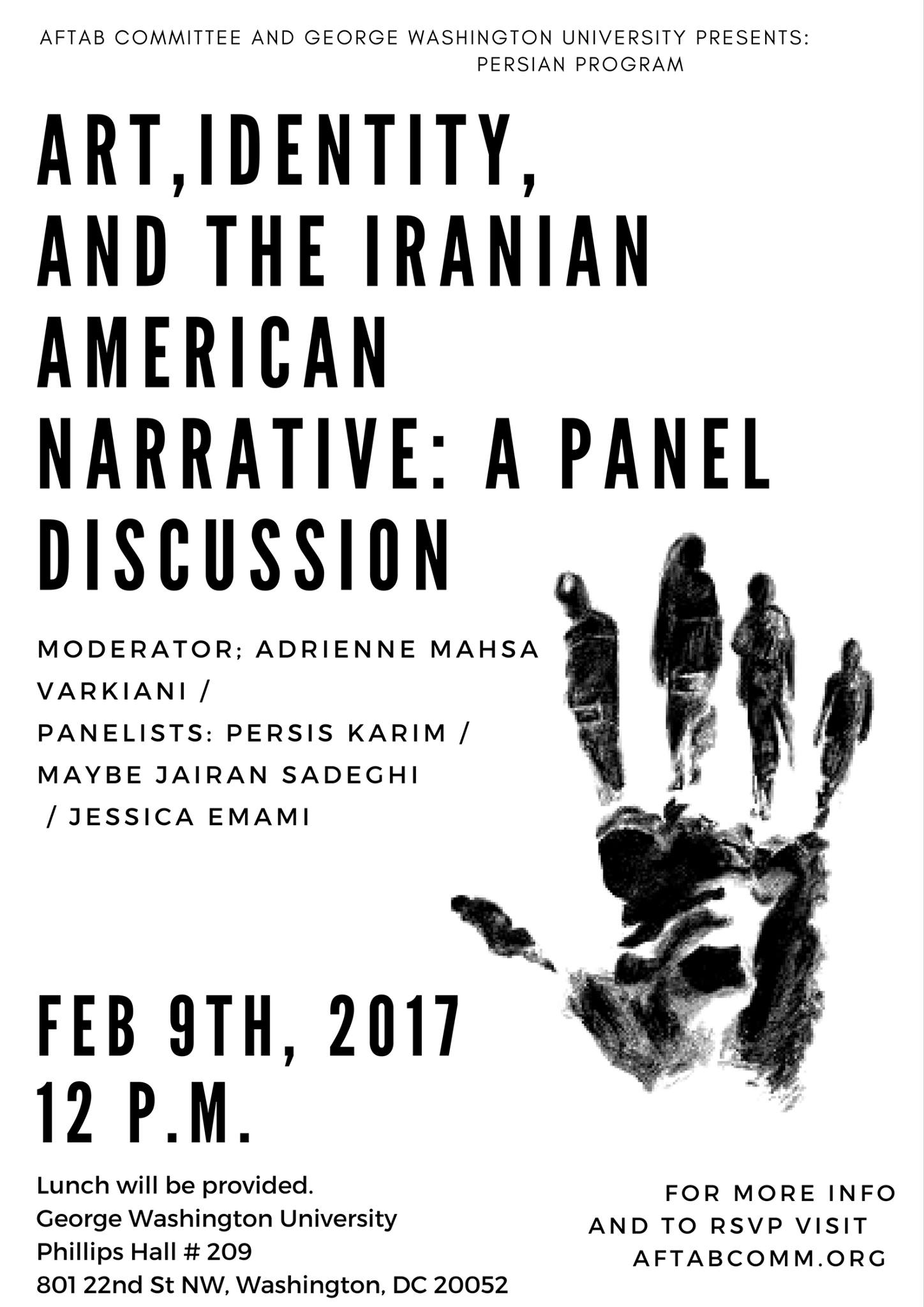 Art, Identity, and the Iranian-American Narrative: A Panel Discussion