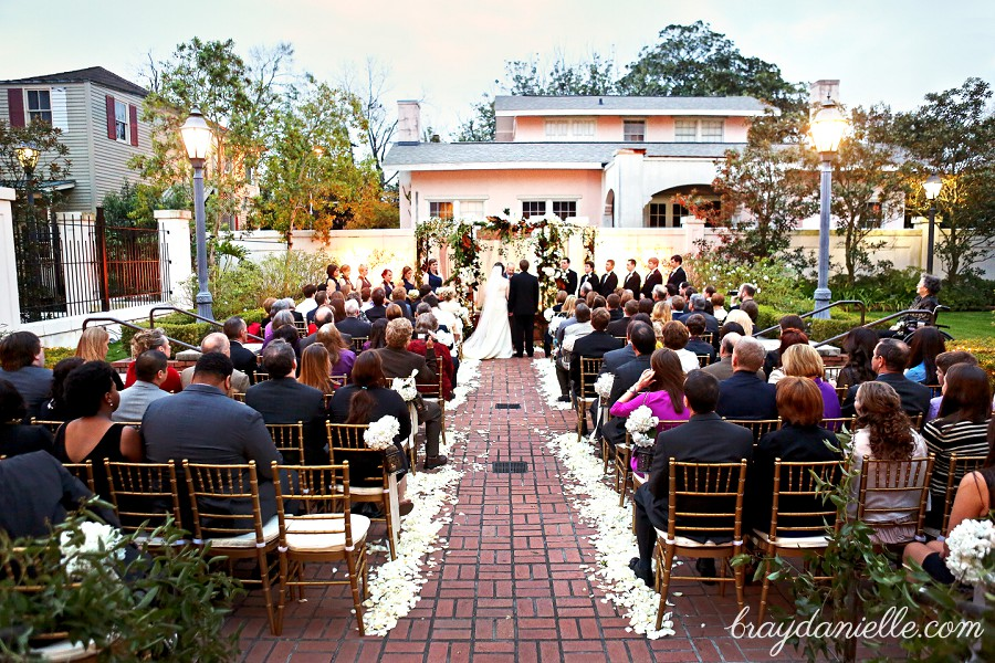 Old Governor's Mansion Wedding Baton Rouge