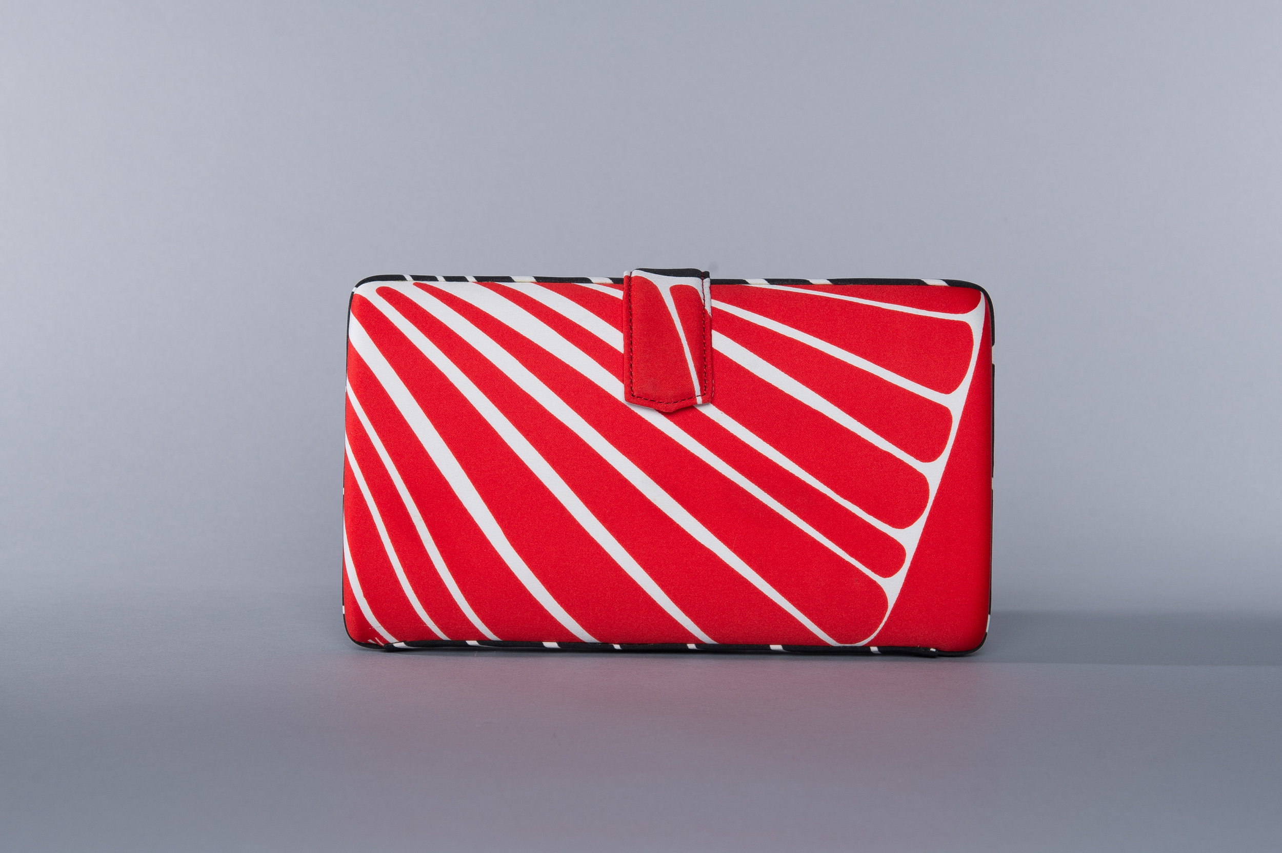 The RITA - a transitional day-to-night clutch that offers clean lines and maximum storage -