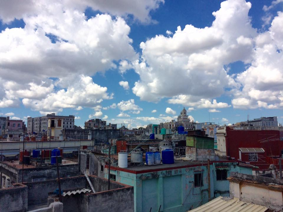 From the rooftops of Casa Vitrales