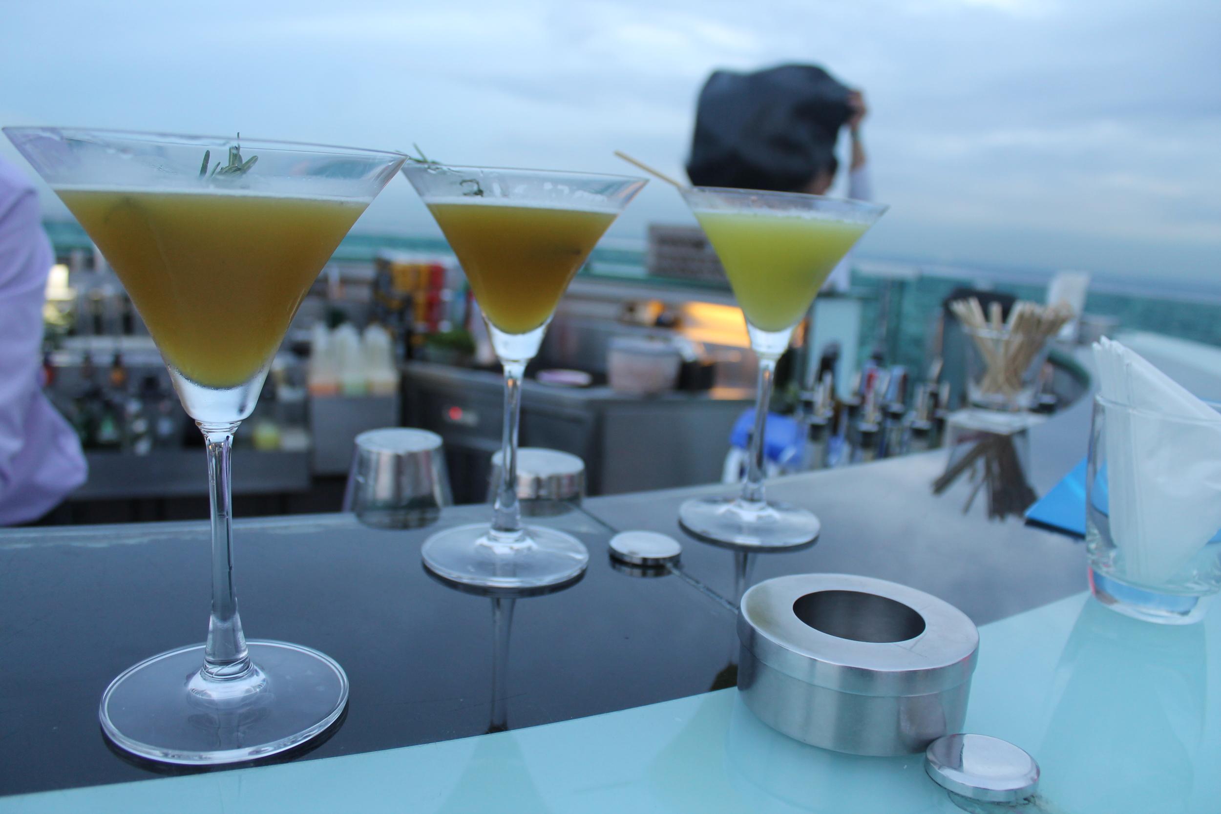 Cocktails at Sky Bar