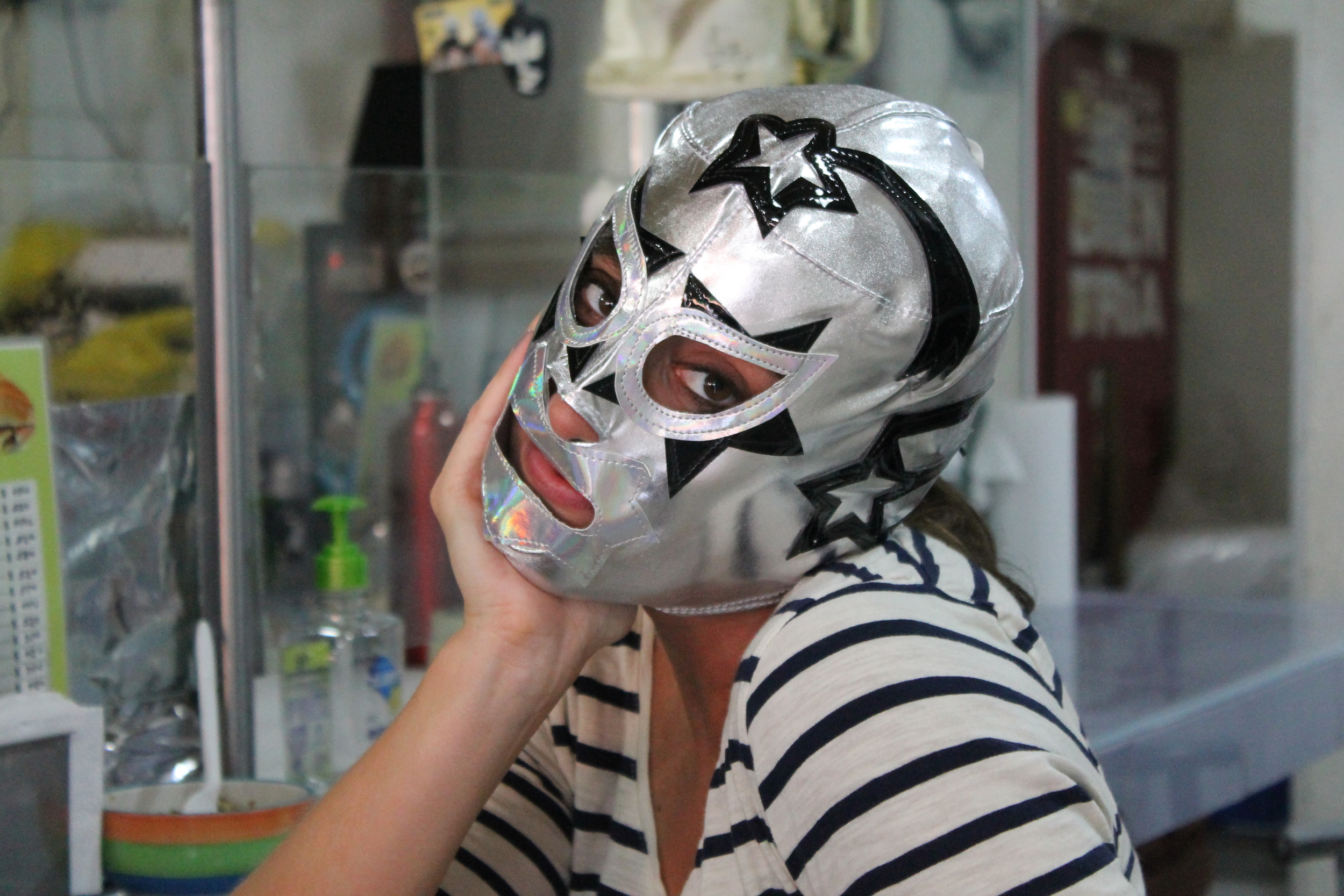 Luchadores, Mexican wrestlers, are known for their masked theatrics