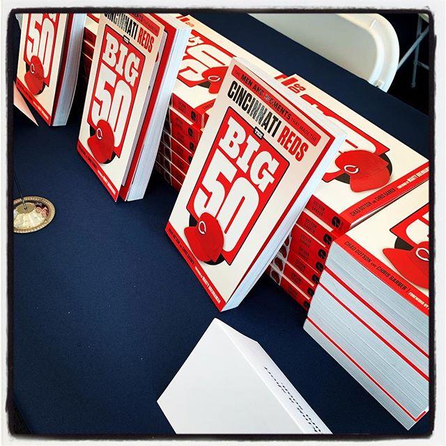 Signing books again.