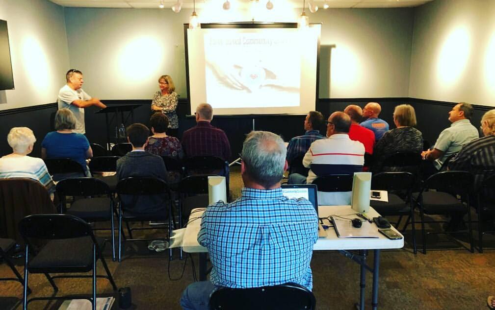 First Crisis Care Team training class for Sovereign Grace Church, Gilbert, AZ