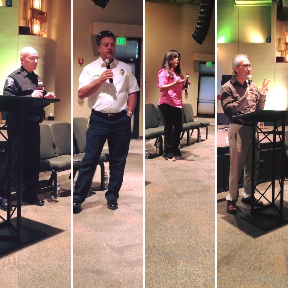 First Responders, School, & Community Leaders