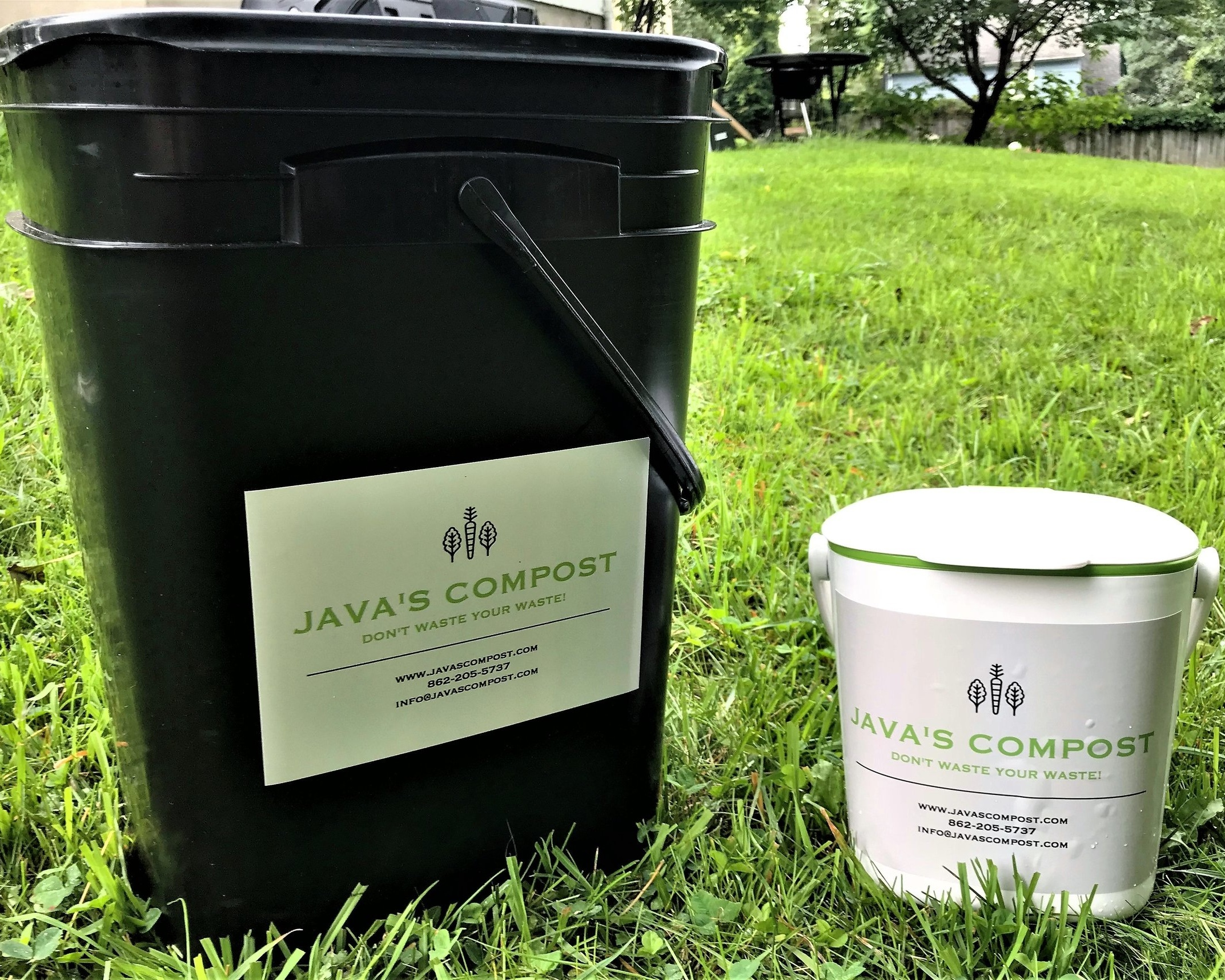 Compost Bucket + Countertop ContainerDimensions:15 1/4