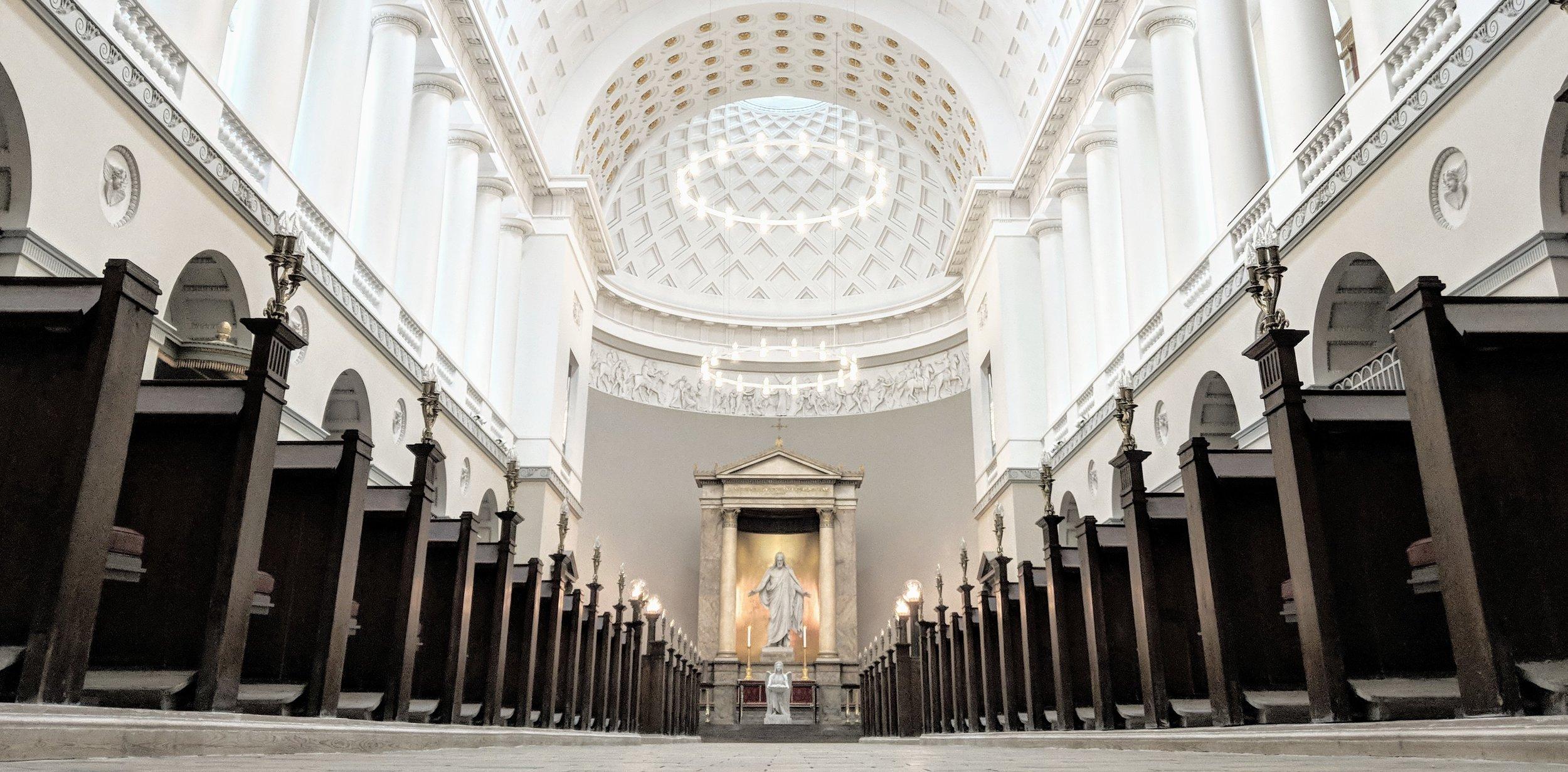 An image of the Vor Frue Kirke taken by my husband Antal Guszlev.jpg