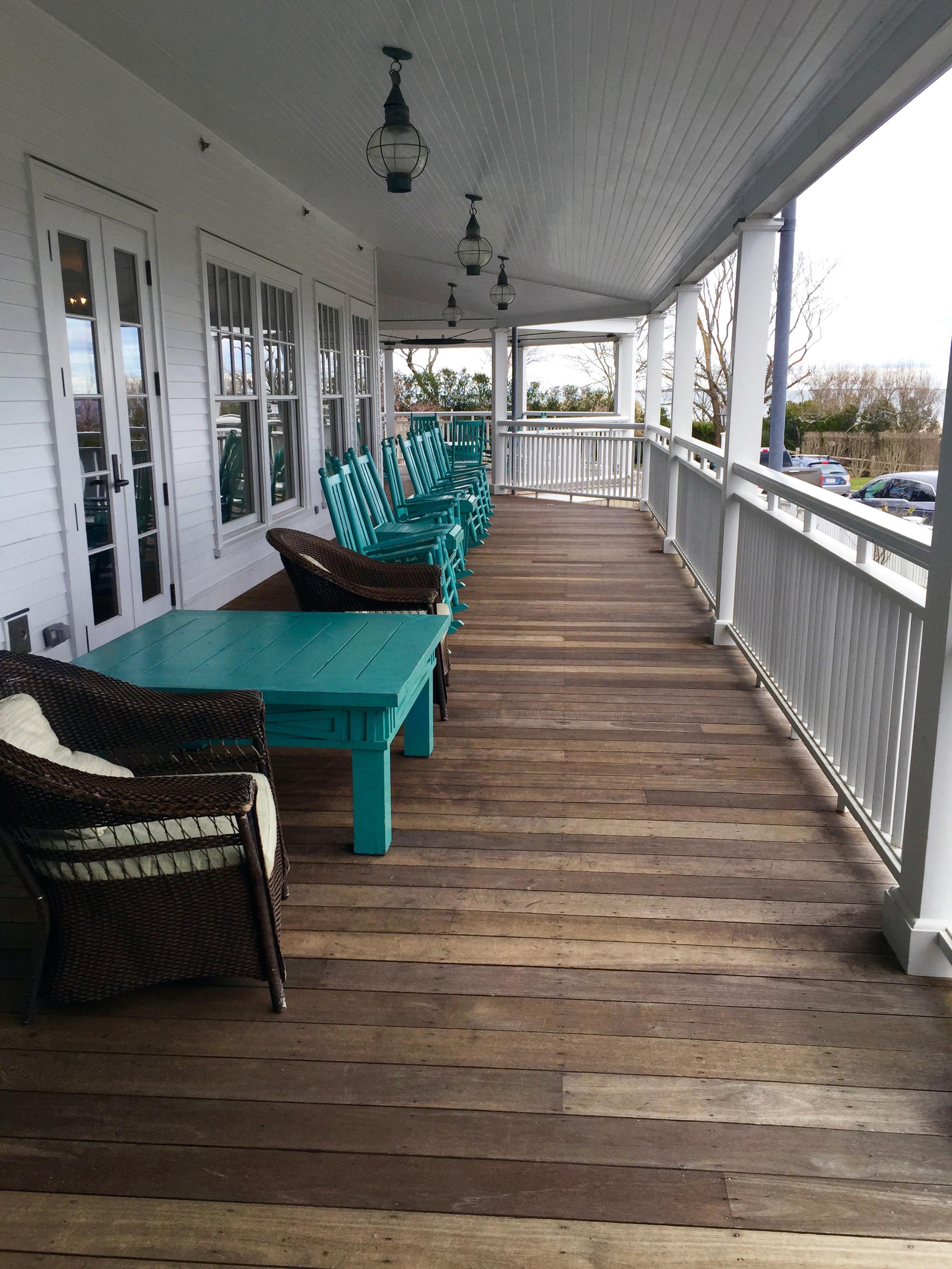 Harbor View Hotel porch