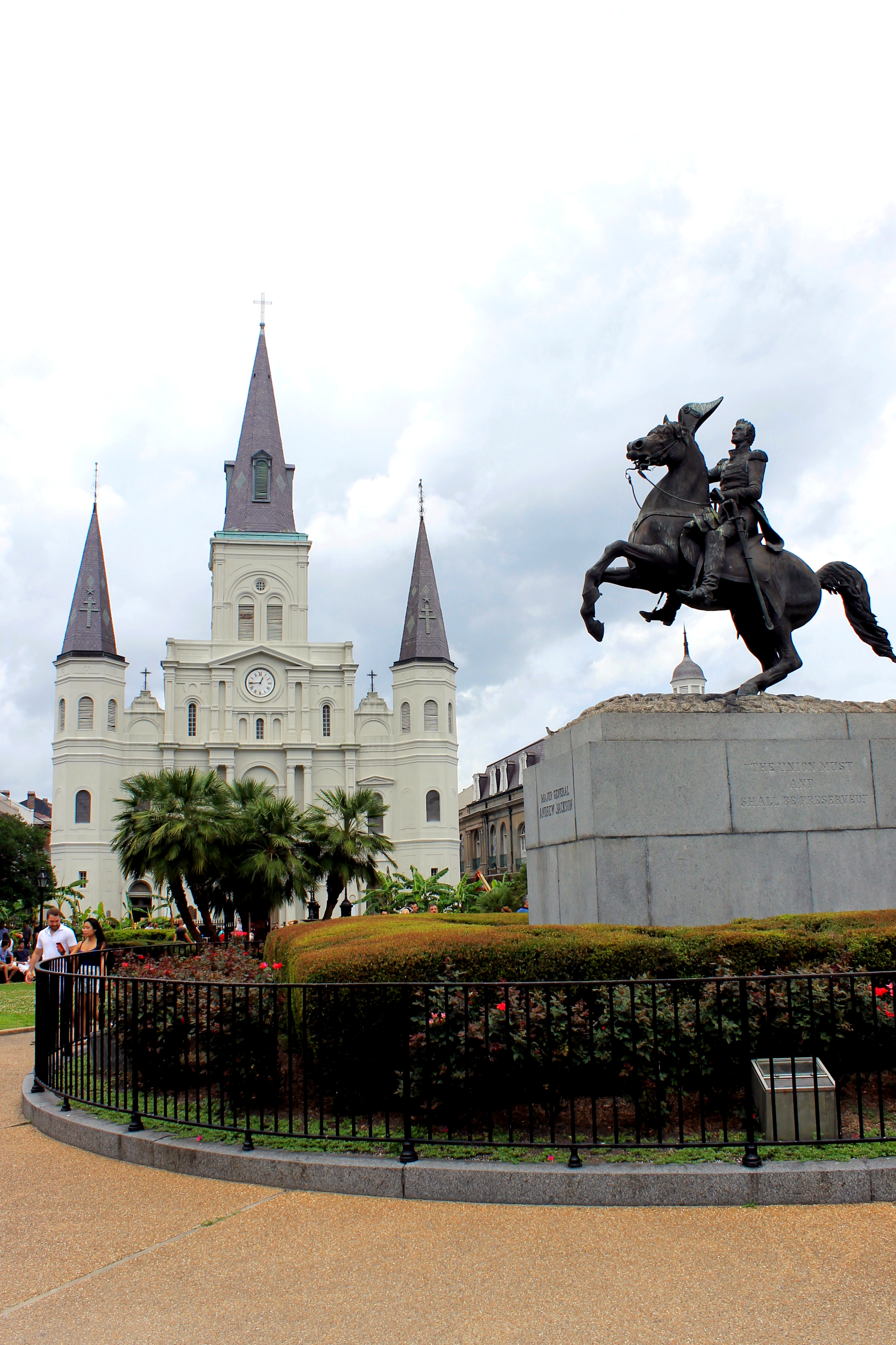St. Louis Cathedral & Andrew Jackson Statue