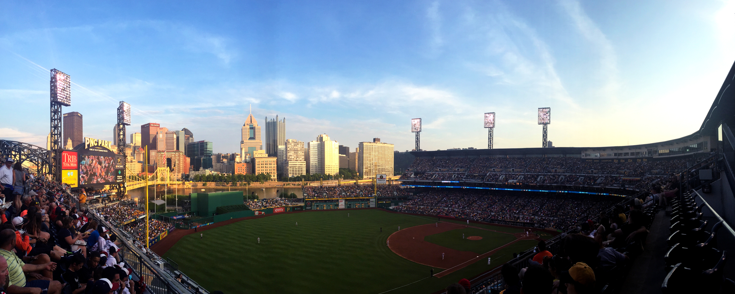 View from PNC Park