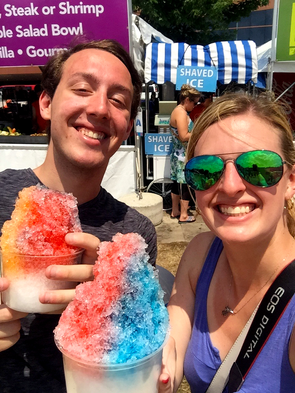 We love shaved ice :)