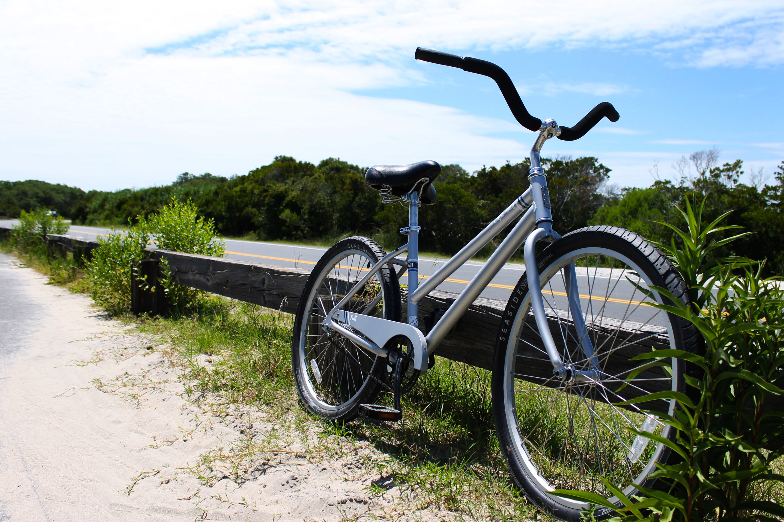 Assateague Island bike trail